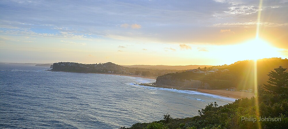 """The Last Rays Of Day""  Sydney Beaches by Philip Johnson"