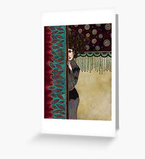 Klimt Muses IV Greeting Card