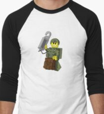 LEGO paratrooper Men's Baseball ¾ T-Shirt