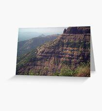 western ghats Greeting Card