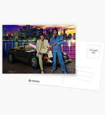 Miami Vice Postcards