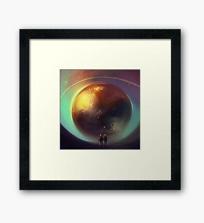 eye of the world Framed Print