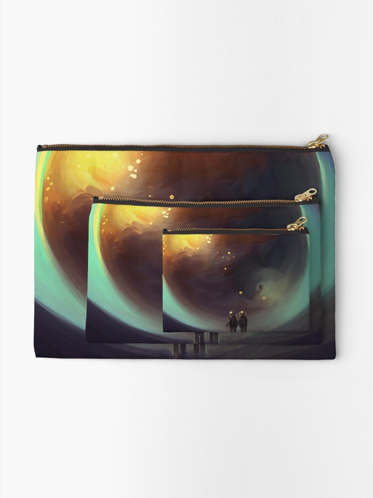 Alternate view of eye of the world Zipper Pouch