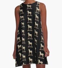 Zebra Toy (pattern) A-Line Dress