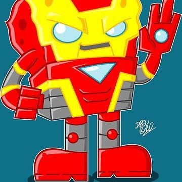 Iron Sponge by DrewBird
