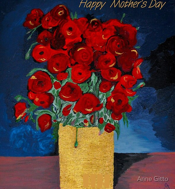 Poppies for Mom by Anne Gitto