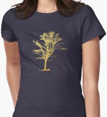 Gold Tree Womens Fitted T-Shirt