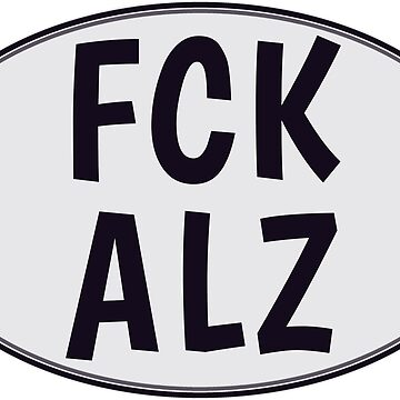 FCK ALZ Oval in Grey by fckalz