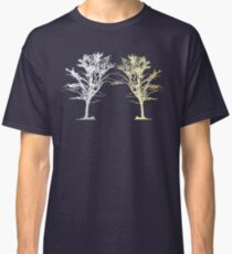 Silver and Gold Trees Classic T-Shirt