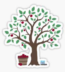 Autumn Smile Apple Orchard - DEH Sticker