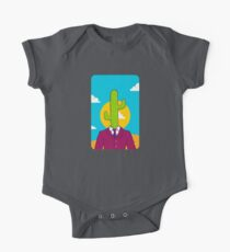Cactus Suit On Point One Piece - Short Sleeve