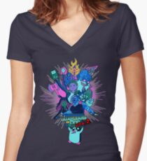 Guardians of Ooo Women's Fitted V-Neck T-Shirt
