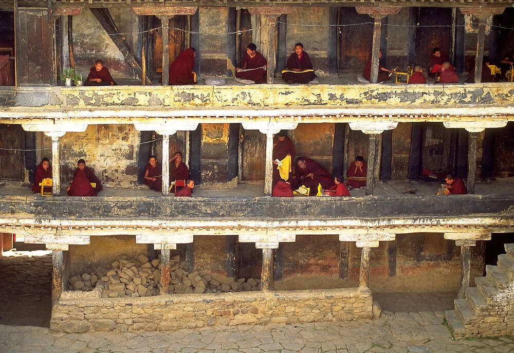 School in Tibet by Phillip  McCordall