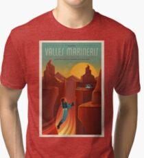 SpaceX Mars Kolonisation und Tourismusverband: Valles Marineris Vintage T-Shirt