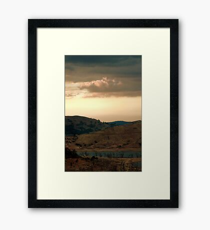 A View from Chinaman's Hill, Bonnie Doon Framed Print