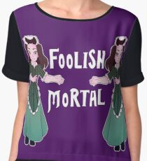 Foolish Hostess Women's Chiffon Top