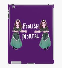 Foolish Hostess iPad Case/Skin