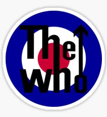 the who sticker Sticker
