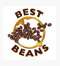 Best Beans Photographic Print