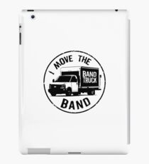 I Move The Band (Black Lettering) iPad Case/Skin