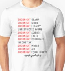 goodnight obama goodnight moon goodnight legally unrestricted womb Shirt Unisex T-Shirt