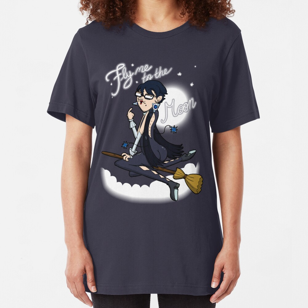 Fly me to the moon... Slim Fit T-Shirt