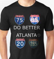DO BETTER ATLANTA Unisex T-Shirt