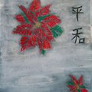 Poinsettia on Snow by RoyAllen Hunt