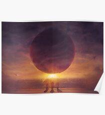 Sunset On Traveler Poster