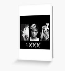 XXXTENTACION Greeting Card