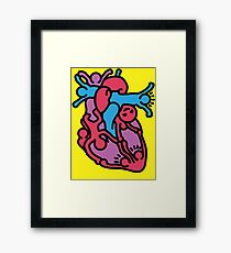 Open Your Heart Framed Print