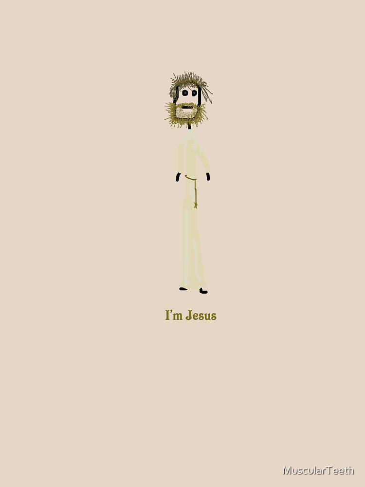 I'm Jesus by MuscularTeeth