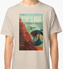 SpaceX Mars Colonization and Tourism Association: Olympus Mons Classic T-Shirt