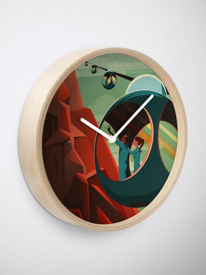 Alternative Ansicht von SpaceX Mars Kolonisations- und Tourismusverband: Olympus Mons Uhr