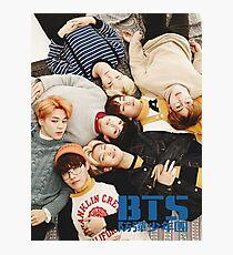BTS lag herum Fotodruck