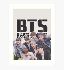 BTS Boyz Art Print