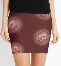 Rimmed rose (pink) Mini Skirt