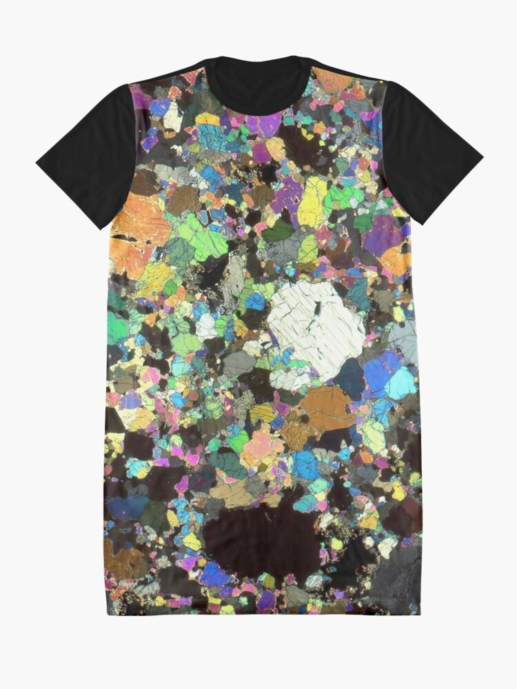 Alternative Ansicht von Peridotit Dünnschnitt T-Shirt Kleid