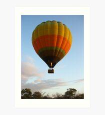 Baloon safari Art Print