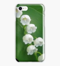 Lily of the Valley from Underneath iPhone Case/Skin