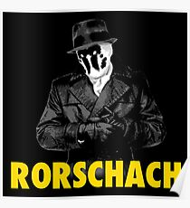 rorschach comic watchmen posters redbubble