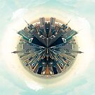 Parallel New York Cities by Vin  Zzep