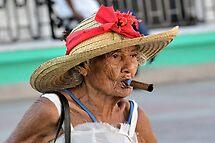 Cuban Lady by Jola Martysz