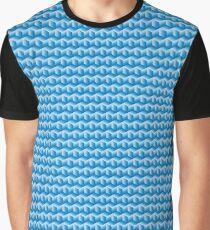Ice Cube Optical Illusion Graphic T-Shirt