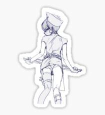 ciel nurse Sticker