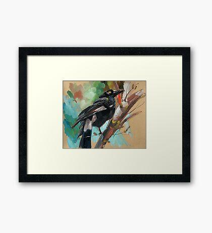 bird-12 Framed Print