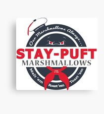 Stay-Puft Canvas Print