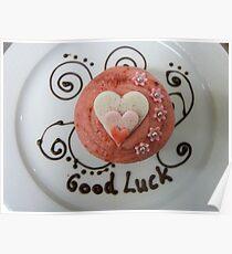 Good Luck!! - Cupcake By Haydene - NZ Poster