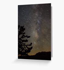 Mojave Night Greeting Card