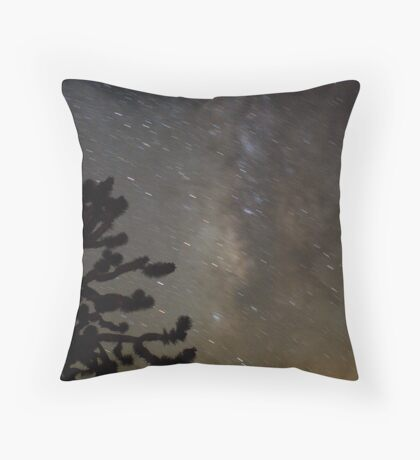 Mojave Night Throw Pillow